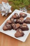 Chokladkakor royaltyfri fotografi