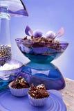 Chokladkex Arkivfoton