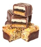Chokladkonfekt, godis Arkivbild