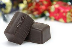 Chokladkonfektar Fotografering för Bildbyråer