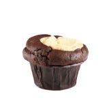 Chokladkoppcake Royaltyfri Bild