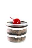 Chokladkoppkaka Arkivbild