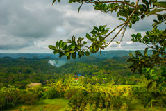 Chokladkullar, Bohol ö, Philippines Royaltyfria Foton