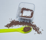 chokladmatlagningrice Royaltyfria Foton