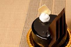 Chokladmousse Arkivbild