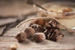 Chokladmousse Arkivfoto