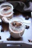 Chokladmousse Royaltyfria Foton