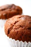 chokladmuffiner Fotografering för Bildbyråer