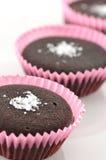 chokladmuffiner Arkivbild