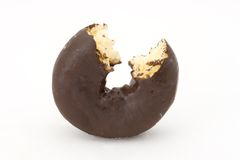 chokladmunk Arkivfoton