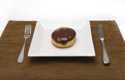 chokladmunk Royaltyfri Bild