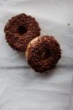 Chokladmunkar royaltyfri fotografi