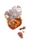 Chokladomslagspapper Royaltyfri Fotografi