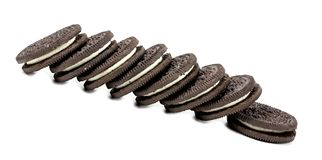 Chokladpralinkakor arkivfoto