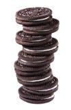Chokladpralinkakor royaltyfria bilder