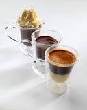 Chokladpralinkopp Royaltyfri Bild
