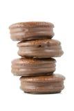 Chokladpralinpierad Arkivbild