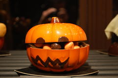 Chokladpumpa Fotografering för Bildbyråer