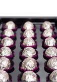 chokladsötsaker arkivbild