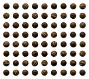chokladsötsaker Royaltyfri Fotografi