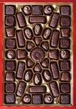 chokladsötsaker royaltyfria foton