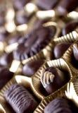 chokladsötsaker arkivbilder