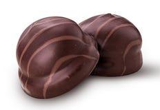 Chokladsötsaker för te fotografering för bildbyråer