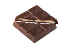 Chokladstycke Royaltyfri Bild