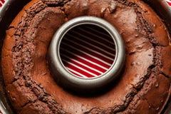 Chokladtårta Royaltyfri Foto
