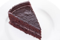 Chokladtårta Arkivbild