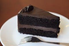Chokladtårta Royaltyfri Bild