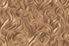 Chokladtextur, smältte svart choklad med virvlar royaltyfri illustrationer