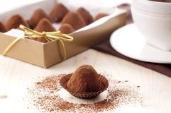chokladtryffel Royaltyfri Foto