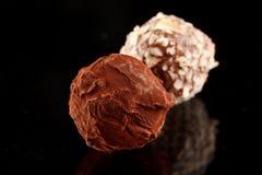 chokladtryffel Fotografering för Bildbyråer
