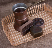 chokladtvål Royaltyfri Bild
