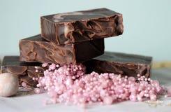 Chokladtvål Arkivbilder