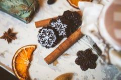 Chokladuppsättning Royaltyfria Foton