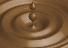 chokladvektor Arkivbild