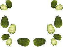 choko граници органический Стоковое Изображение