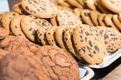 Chokolate cookies Stock Photos
