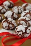 Chokolate enruga bolinhos Imagens de Stock