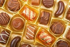Chokolate godisar Arkivbilder