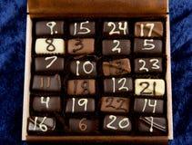 Chokolate hecho a mano Fotografía de archivo