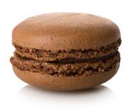Free Chokolate Macaron Isolated Stock Photography - 89806742