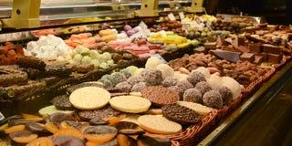 Chocolate shop Stock Photos