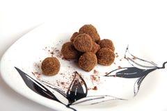 chokolatebakelser Royaltyfria Foton