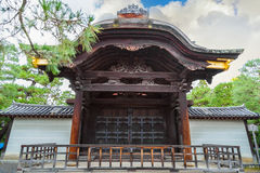 Chokushimon (Imperial Messenger Gate) at Daitoku-ji Temple in Kyoto Stock Image