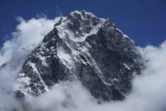 Cholatse in Himalayas stock photo