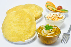 Chole Bhature Royalty Free Stock Photo