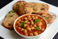 Chole Bhature Obrazy Royalty Free